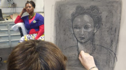 Drawing and painting: life and portraiture